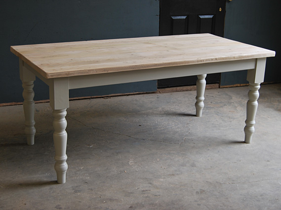 Farmhouse Table | Rustic Dining Table | Rustic Kitchen Table | Traditional Dining Table | Cottage Kitchen Table | Vintage Dining Table | Rustic Table | Dining Table | Farmhouse leg vintage dining table
