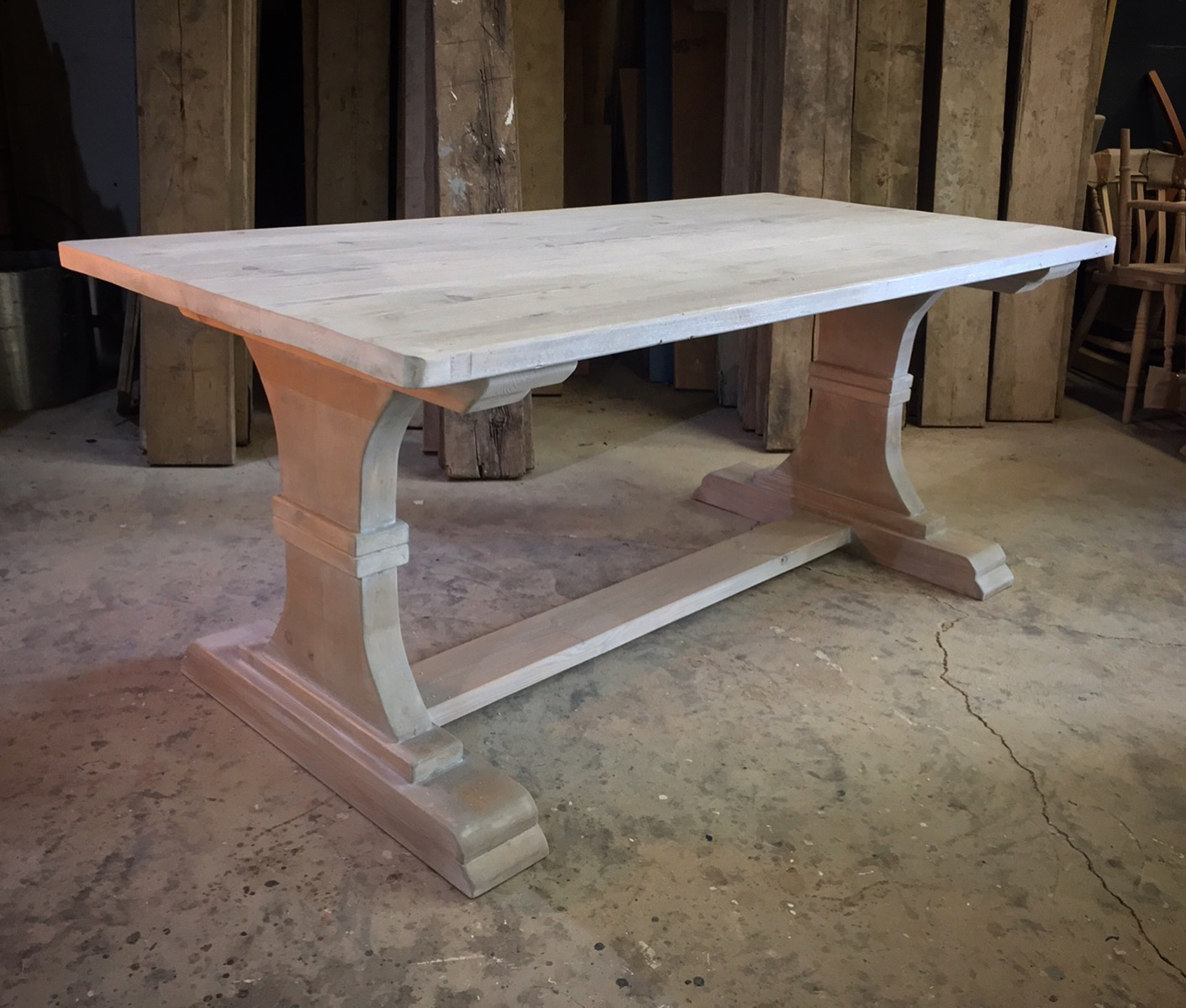 Hourglass Table Vintage Furniture Co