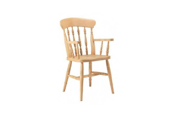 Spindle Carver Chair