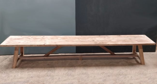 Large Dining Tables | Extra Large Dining Tables | Reclaimed Timber Dining Table | A-Frame Table | Farmhouse Dining Table | Industrial Dining Table | Rustic Dining Table