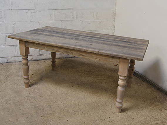Reclaimed Pine Dining Table | Farmhouse Table | Rustic Dining Table | Rustic Kitchen Table | Traditional Dining Table | Cottage Kitchen Table | Vintage Dining Table | Rustic Table | Dining Table | Farmhouse leg vintage dining table
