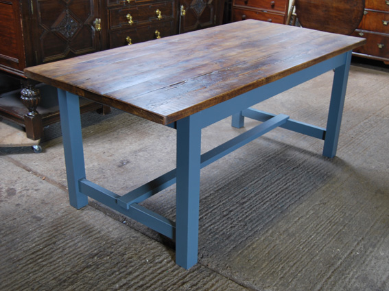 Square Leg Modern Refectory Table