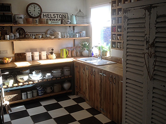 Vintage Reclaimed Kitchen Units from The Vintage Furniture Company