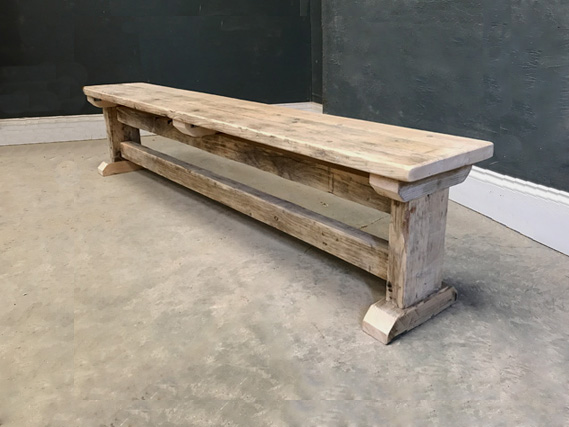 Reclaimed Chunky Bench Vintage Furniture Co