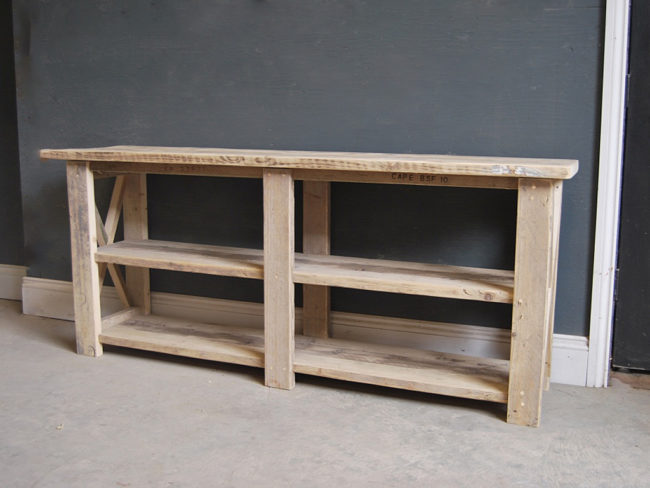Reclaimed Timber Shelving Units | Rustic Shelving | Industrial Shelves | Vintage Shelves