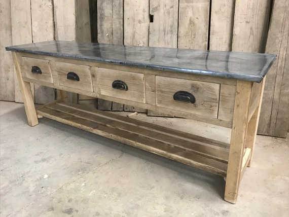 Reclaimed Timber Sideboard | Rustic Sideboard | Rustic TV Unit | Reclaimed TV Unit | Handmade furniture from reclaimed materials in Harrogate, North Yorkshire